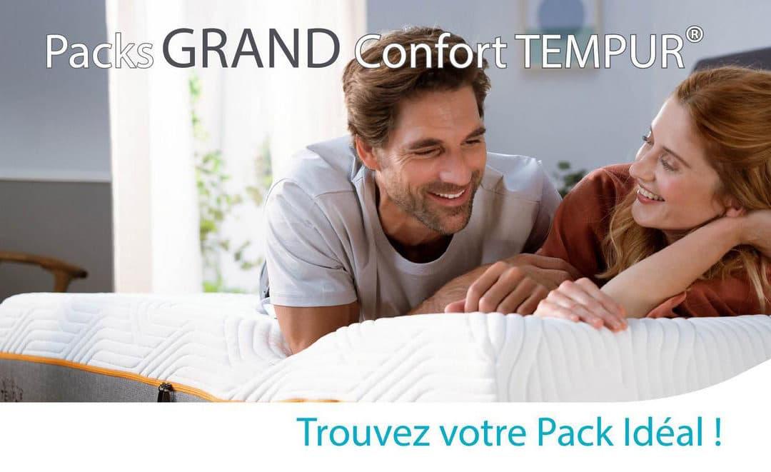 Packs GRAND confort TEMPUR®️ : pour une rentrée en pleine forme !